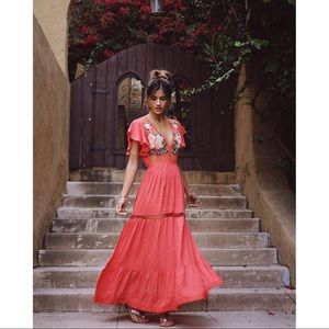 Cleobella Amery Dress as seen on Rocky Barnes